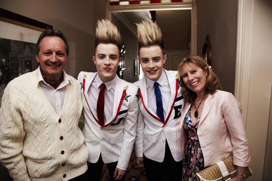 Behind the scenes of Jedward's 'Bad Behaviour' video