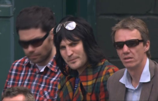 Noel Fielding at Wimbledon