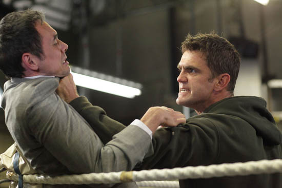 Jack Branning (Scott Maslen) and Michael Moon (Steve John Shepherd)
