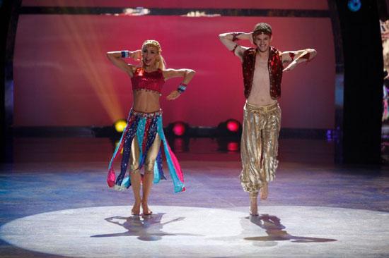 Iveta Lukosiute and Nick Young