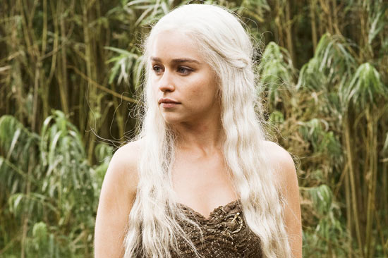 Daenerys Targaryen (Emilia Clarke) from 'Game Of Thrones'