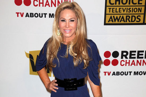 Adrienne Maloof arriving at the Critics' Choice TV Awards