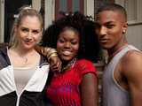 Faith, Donnie and Ava from EastEnders: E20