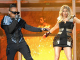 Fergie and Will.i.am of The Black Eyed Peas perform Life in France