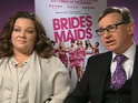 "Melissa McCarthy said that she had a ""fast reaction"" to her Bridesmaids character Megan."