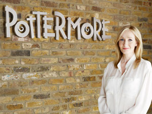 Pottermore: JK Rowling