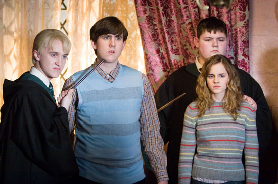 Draco, Neville, Vincent and Hermione