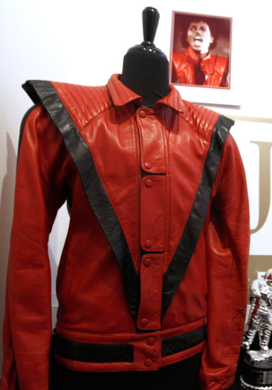 Michael Jackson's 'Thriller' jacket at auction