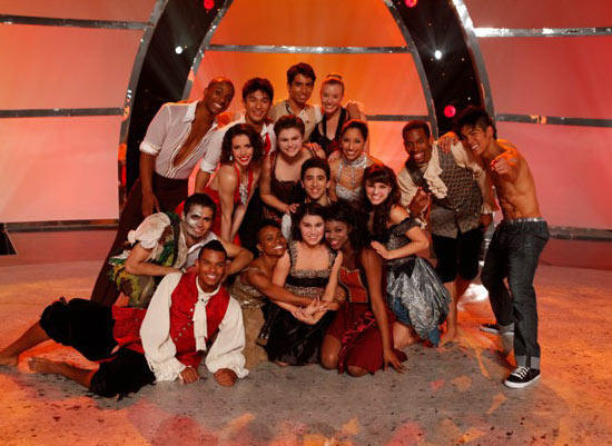 The SYTYCD top 16