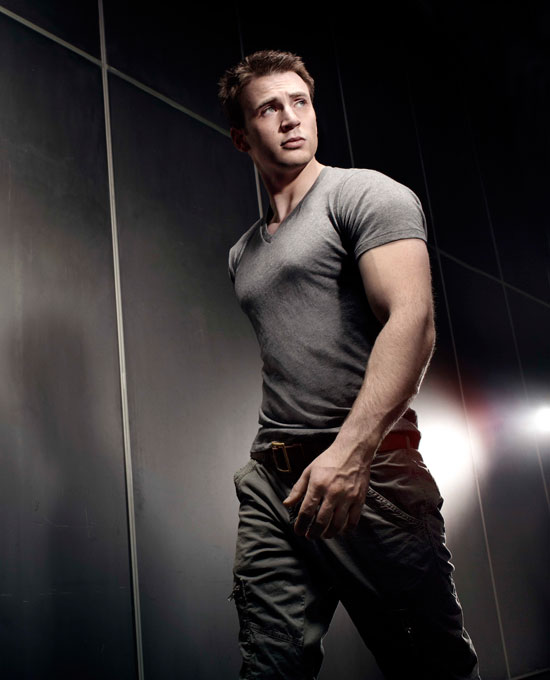 Chris Evans - Mens Health