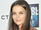 Katie Holmes with &#39;Don&#39;t Be Afraid of the Dark&#39; co-star Bailee Madison at the films Los Angeles premiere