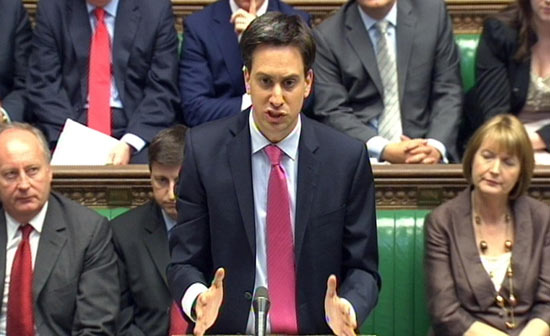 Ed Miliband at Prime Minister's Questions