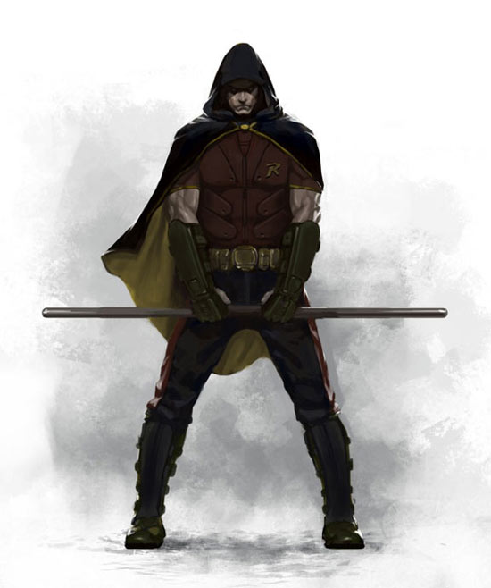 Batman: Arkham City's Robin