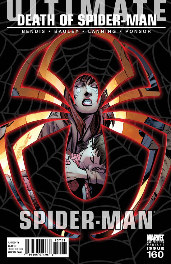 Death of Spider-Man, preview