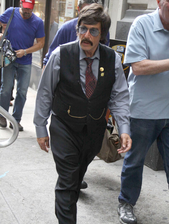 Al Pacino as Phil Spector