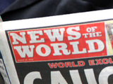 News Of The World paper