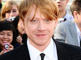 Rupert Grint at the Harry Potter world premiere