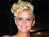 Kerry Katona makes an appearance at the National Reality Television Awards, held in London, England