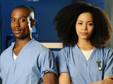 Michael Obiora (Lloyd) and Madeleine Mantock (Scarlett)