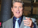 David Hasselhoff's girlfriend goes back to her job at Debenhams.