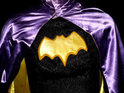 The original Batgirl costume from the 1960s Batman television series is put up for auction.