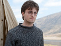 "Daniel Radcliffe admits that he finds it ""peculiar"" but nostalgic to watch the early Harry Potter films."