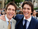 James and Oliver Phelps admit that it is a sad day, as the cast of Harry Potter gather for the last world premiere.