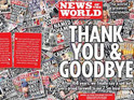 News International says the Sunday tabloid's finale sold 3.8m copies in July.