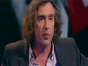 "Steve Coogan admits that the closure of the News of the World has left him feeling ""delighted""."