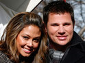 Nick Lachey opens up about seeing Vanessa Minnillo in her wedding gown for the first time.