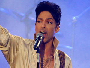 Prince performs at Hop Farm Festival