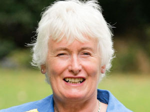 TV personality and ex-lawyer Margaret Mountford