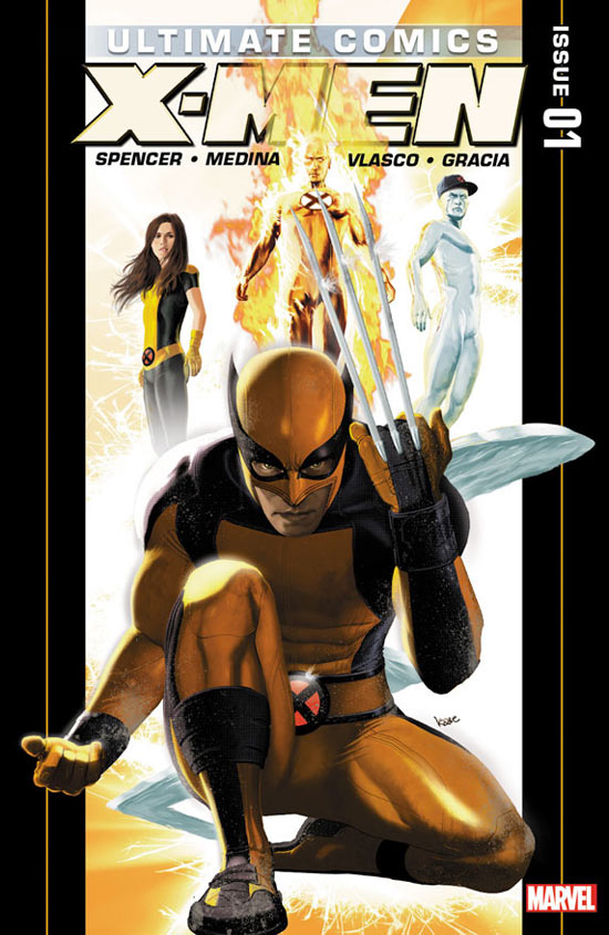 Ultimate X Men Cover