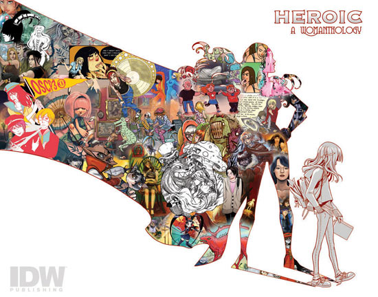 'Heroic: A Womanthology'
