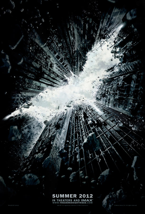 'The Dark Knight Rises' poster
