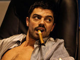 Dominic Cooper as Uday Hussein in &#39;The Devil&#39;s Double&#39;
