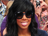 Kelly Rowland arrives at the Liverpool auditions of 'The X Factor'