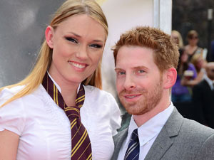 Claire Grant and Seth Green at the 'Harry Potter and The Deathly Hallows Part 2' New York Premiere