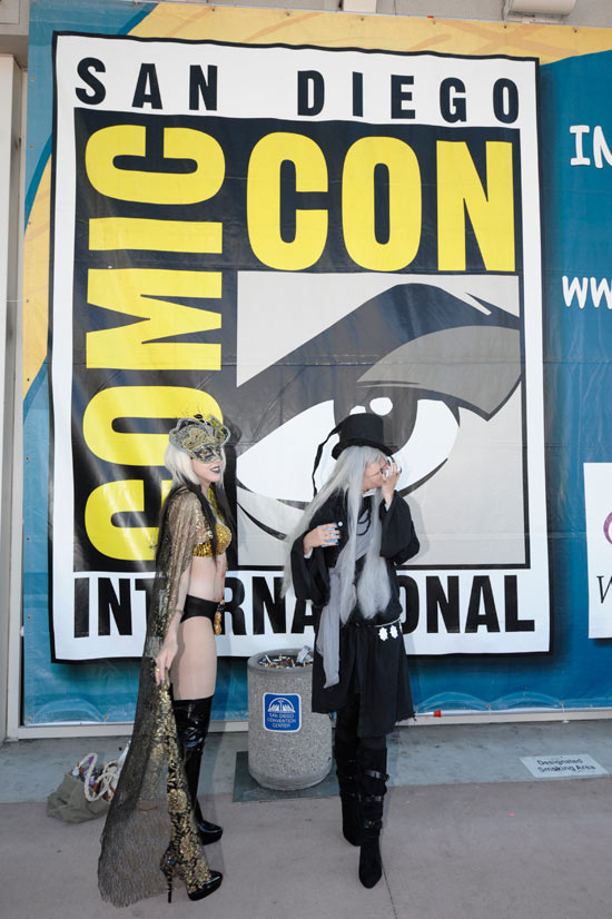 The Comic-Con logo