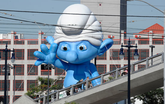 Giant Inflatable Smurf