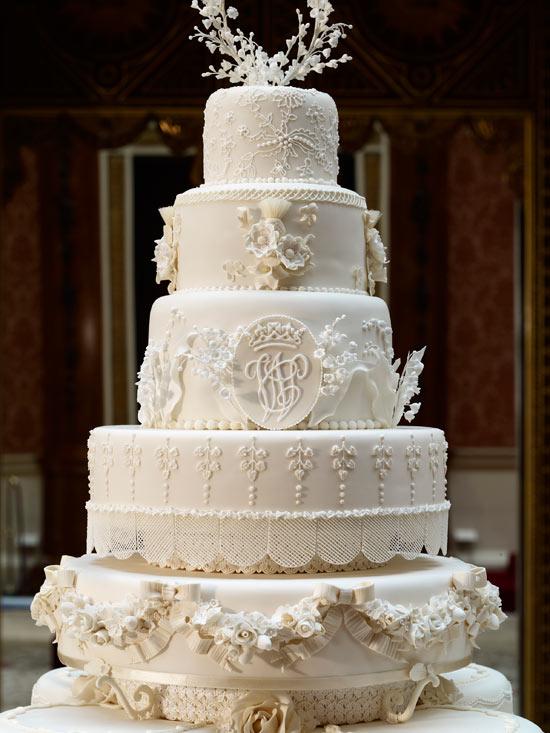 The Duke and Duchess of Cambridge's wedding cake