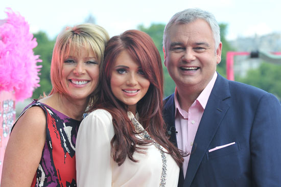 Ruth Langsford, Amy Childs and Eamon Holmes