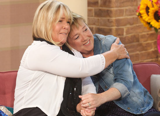 Linda Robson and Pauline Quirke on 'This Morning'