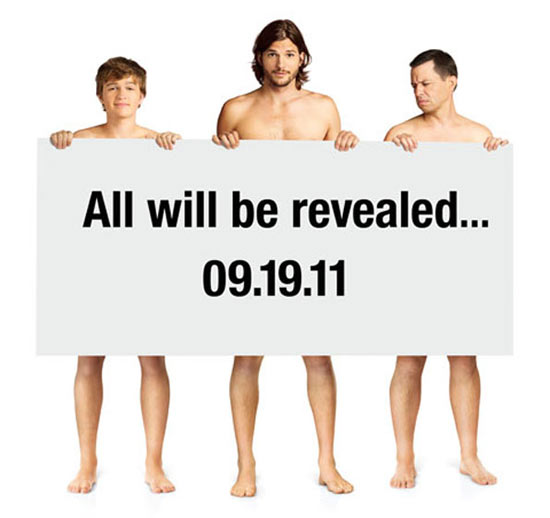 Two And A Half Men Ashton Kutcher teaser