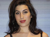 Amy Winehouse arriving at the BRIT Awards 2004 Nominations launch.