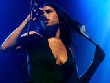 Amy Winehouse performing live at the JJB Arena during V Festival 2004 in Chelmsford, Essex.