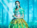 The first look at Lily Collins as Snow White is unveiled at Comic-Con 2011.