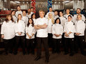 Gordon Ramsay eliminates the pool of chefs on Hell's Kitchen.