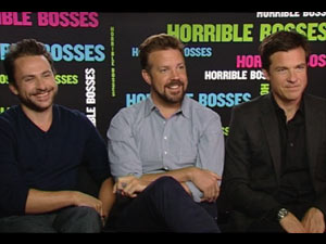 Charlie Day, Jason Sudeikis and Jason Bateman