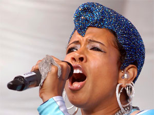 Kelis performs live at Bristol Gay Pride, England